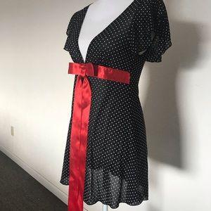 Polkadot Night Gown
